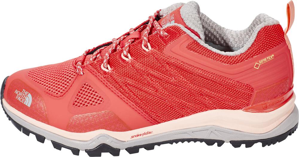 The North Face Ultra Fastpack II GTX Shoes Women Cayenne Red/Tropical Peach Größe 10,5 (EU 41,5) 2017 Schuhe